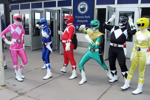 Go, Go Power Rangers!